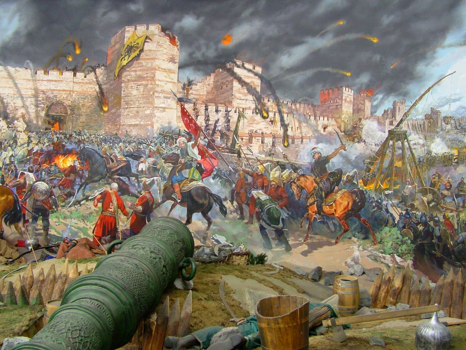Tales From Turkey Part 5 Siege Of Constantinople Byzantium
