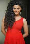 Saiyami Kher Hot in Red at Rey Trailer launch-thumbnail-12