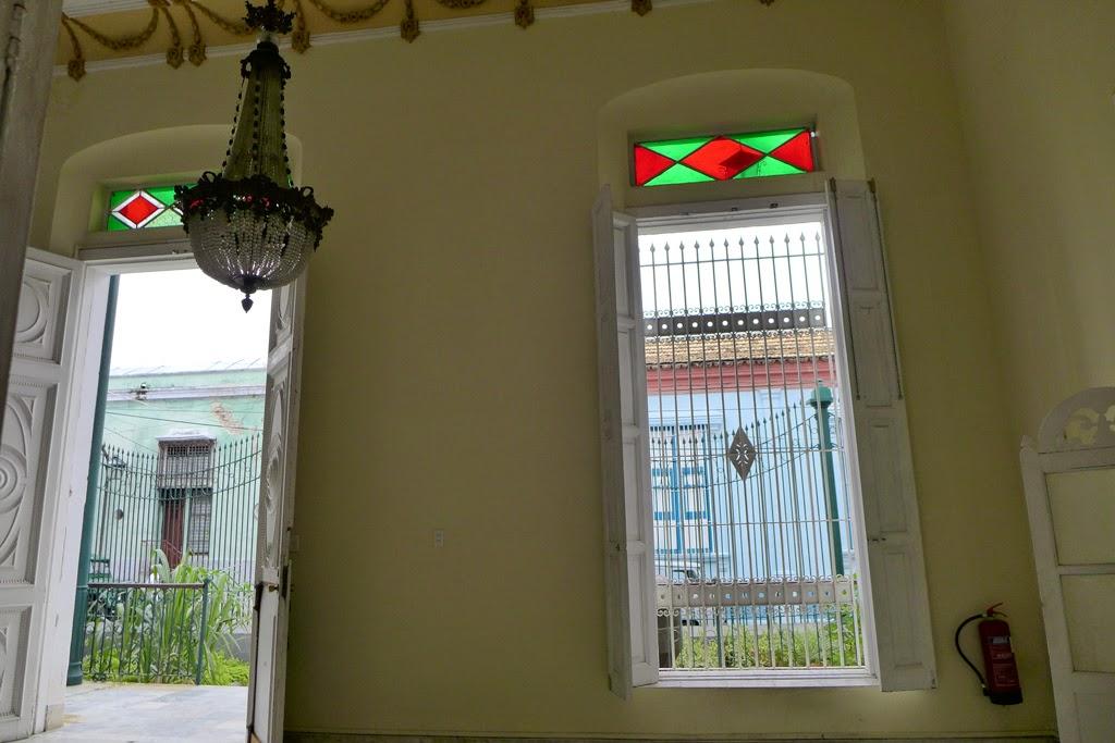 Santiago de Cuba interior entrance Museo del Ron