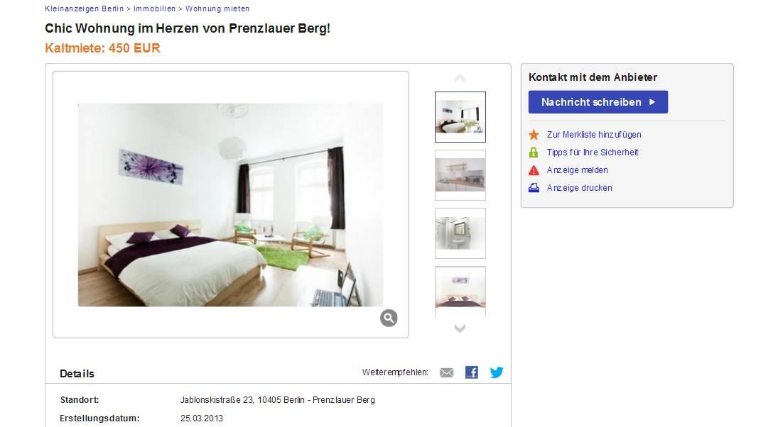 Http://kleinanzeigen.ebay.de/anzeigen/s Anzeige/chic Wohnung Im Herzen Von Prenzlauer Berg!/108593934 203 3492
