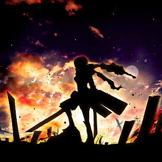 Attack on Titan Shingeki no Kyojin Mikasa Ackerman Anime Girl Sword Blade HD Wallpaper Desktop PC Background