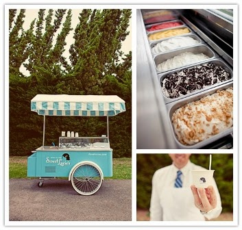 Barra de helados en tu boda