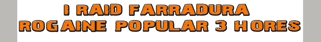 I RAID FARRADURA - ROGAINE POPULAR