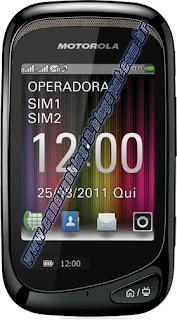 :Novo celular Motorola MotoTV 2 Dual chip