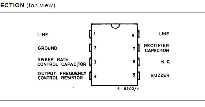 two tone ringtone generator circuit