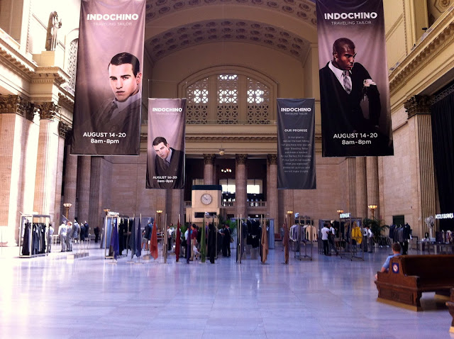 Indochino Traveling Tailor Chicago