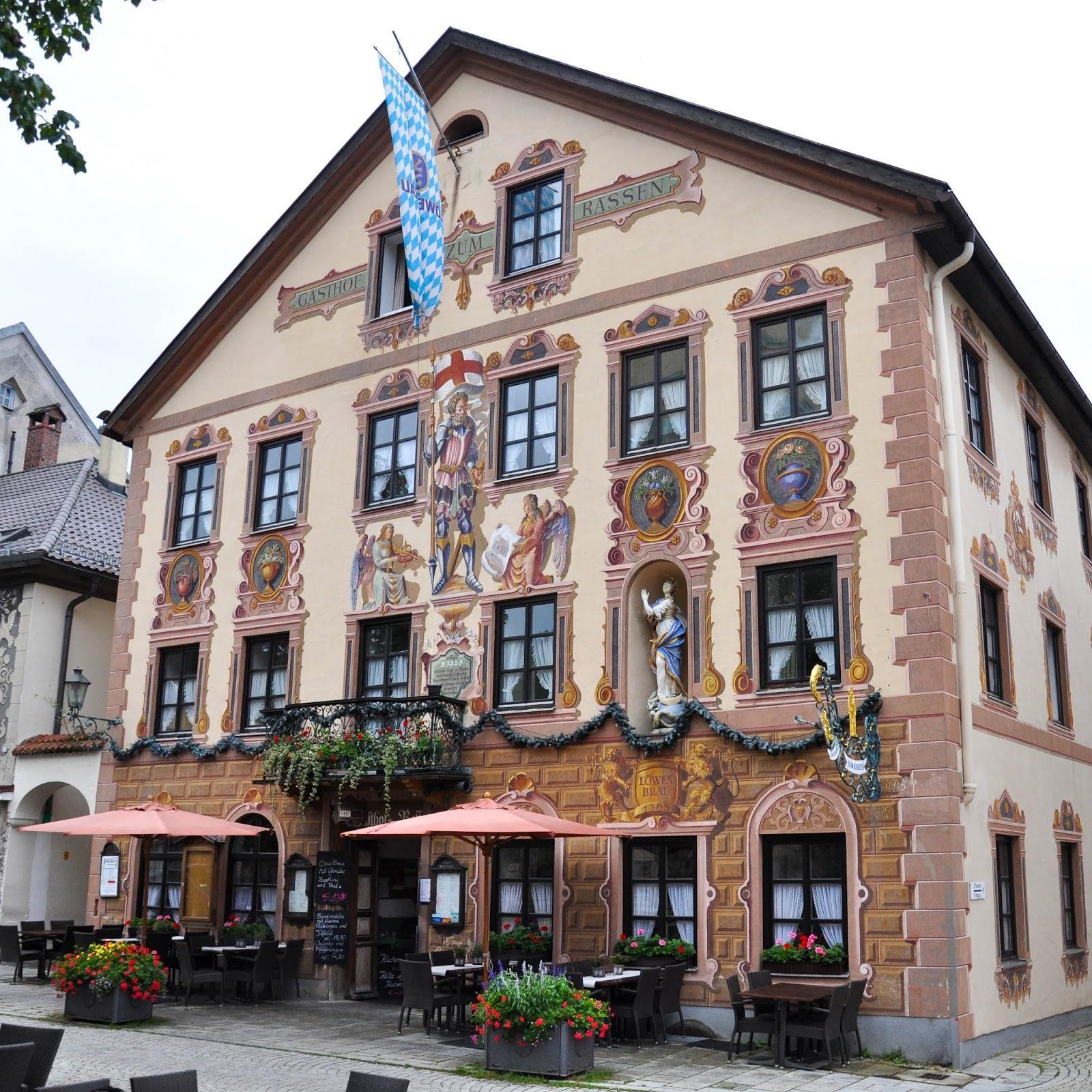 Painted House, Garmisch Parternkirchen, Bavaria, Germany