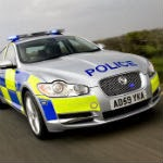 Jaguar XF UK police vehicle
