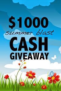 $1000 Summer Blast Giveaway!