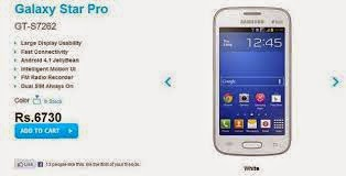Spesifikasi dan Review Harga Lengkap Samsung Galaxy Star Pro Terbaru