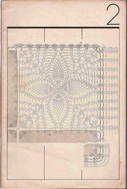"#21 Sobrecama ""Intimidad"" a Crochet"
