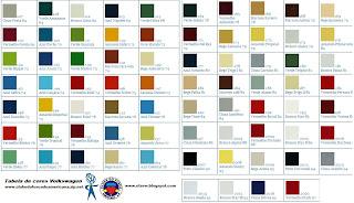 Catalogo de cores automotivas online dating 6