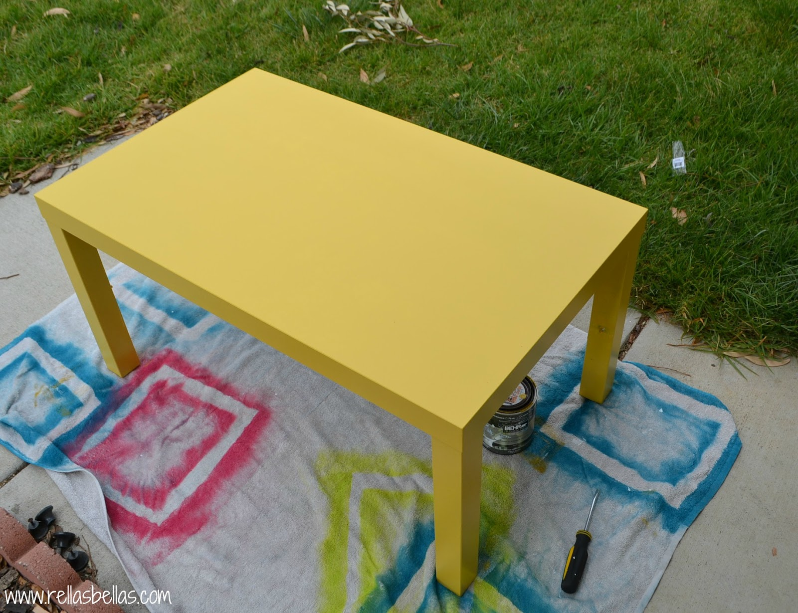Sincerely Jen DIY ikea coffee table makeover