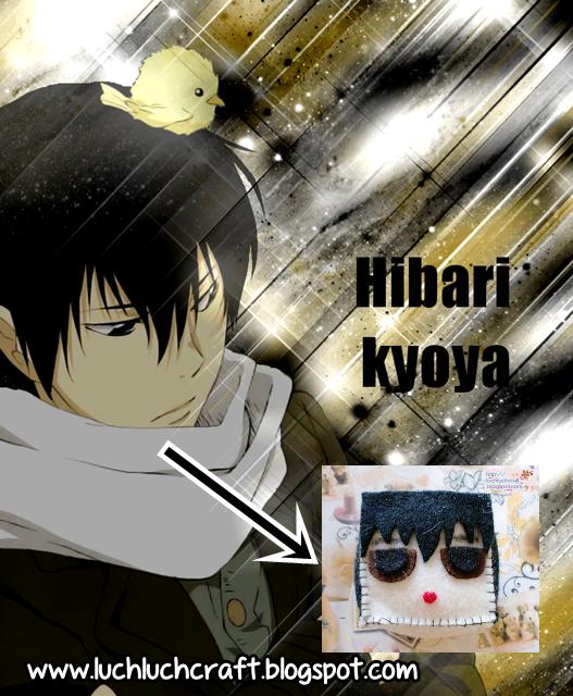 hibari kyoya plushie