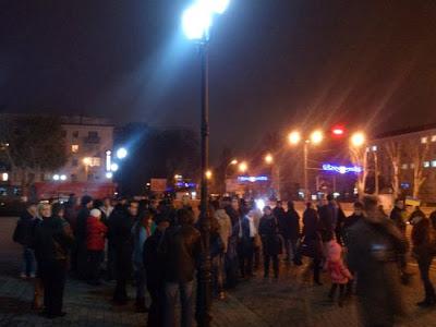 Херсонский Евромайдан. Фото Александра Ложичева