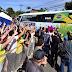 Ônibus da seleção com o nome 'Brazil' é criticado por torcedores