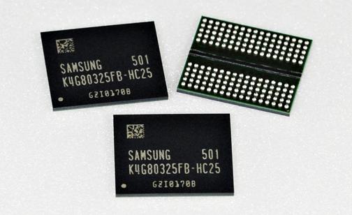 Samsung 8-Gigabit GDDR5 DRAM