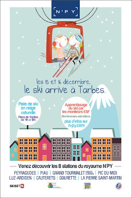 LE SKI ARRIVE A TARBES ANIMATION 2012