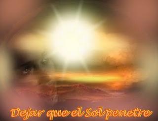 Querido, si no quieres hacer hincapié en las dificultades y poner toda tu atención en la Bondad del mundo para ofrecerle las mismas Energías que Yo le doy, permítete a ti mismo absorberlas a través de los rayos del Sol.