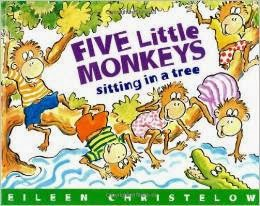 http://www.amazon.com/Five-Little-Monkeys-Sitting-Story/dp/0395664136