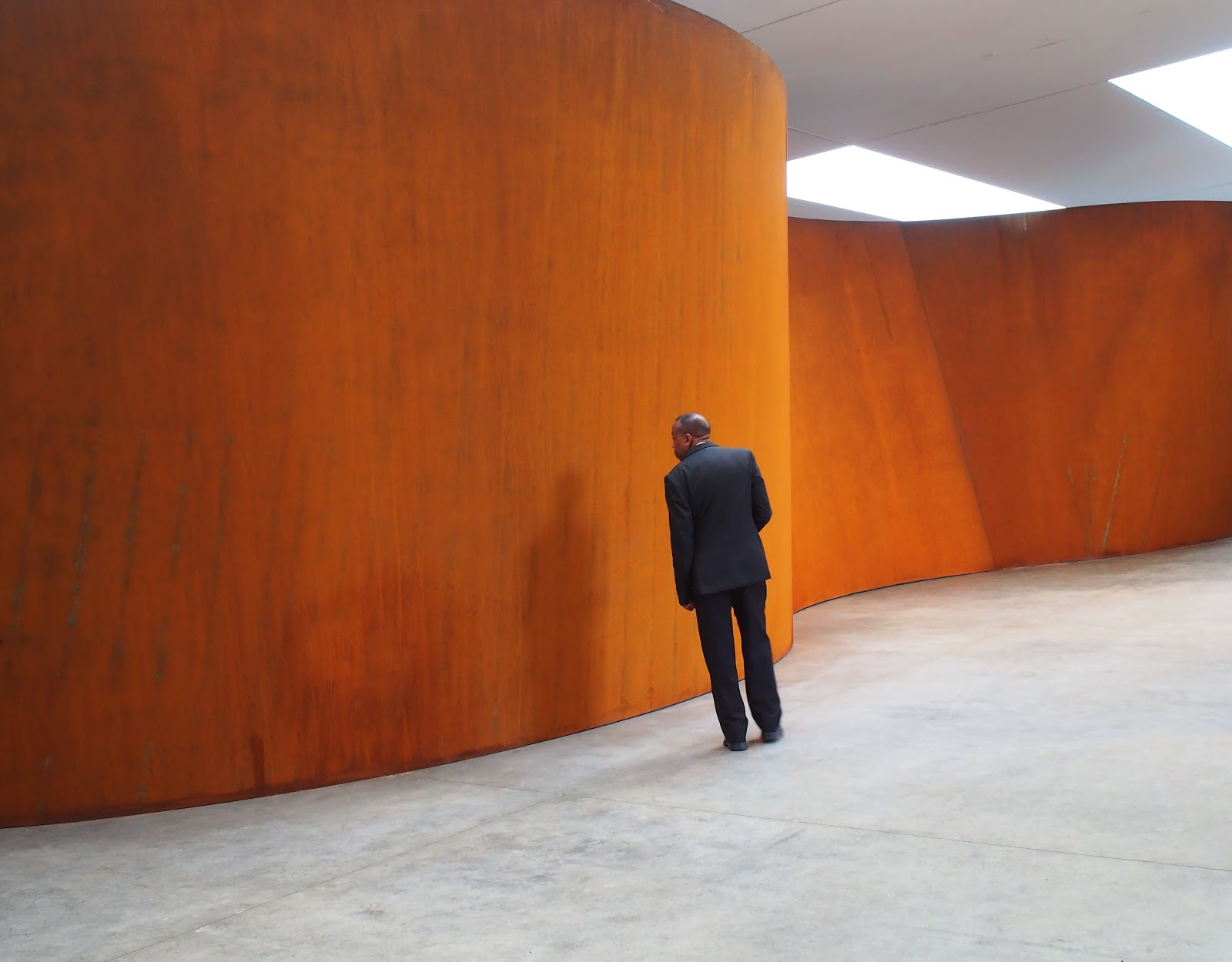 Inside Out :: Richard Serra, Expedition #RichardSerra, #NYC 2013