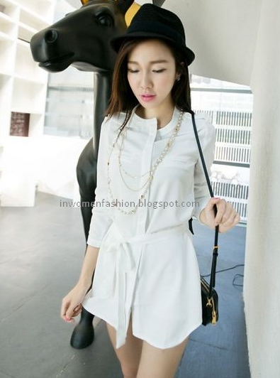 Beautiful Girls With Dress Up Korean Style In Women Fashion