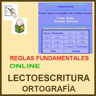 REGLAS DE ORTOGRAFÍA