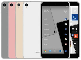 Nokia C1 use Android and Windows OS 10, this is Proof