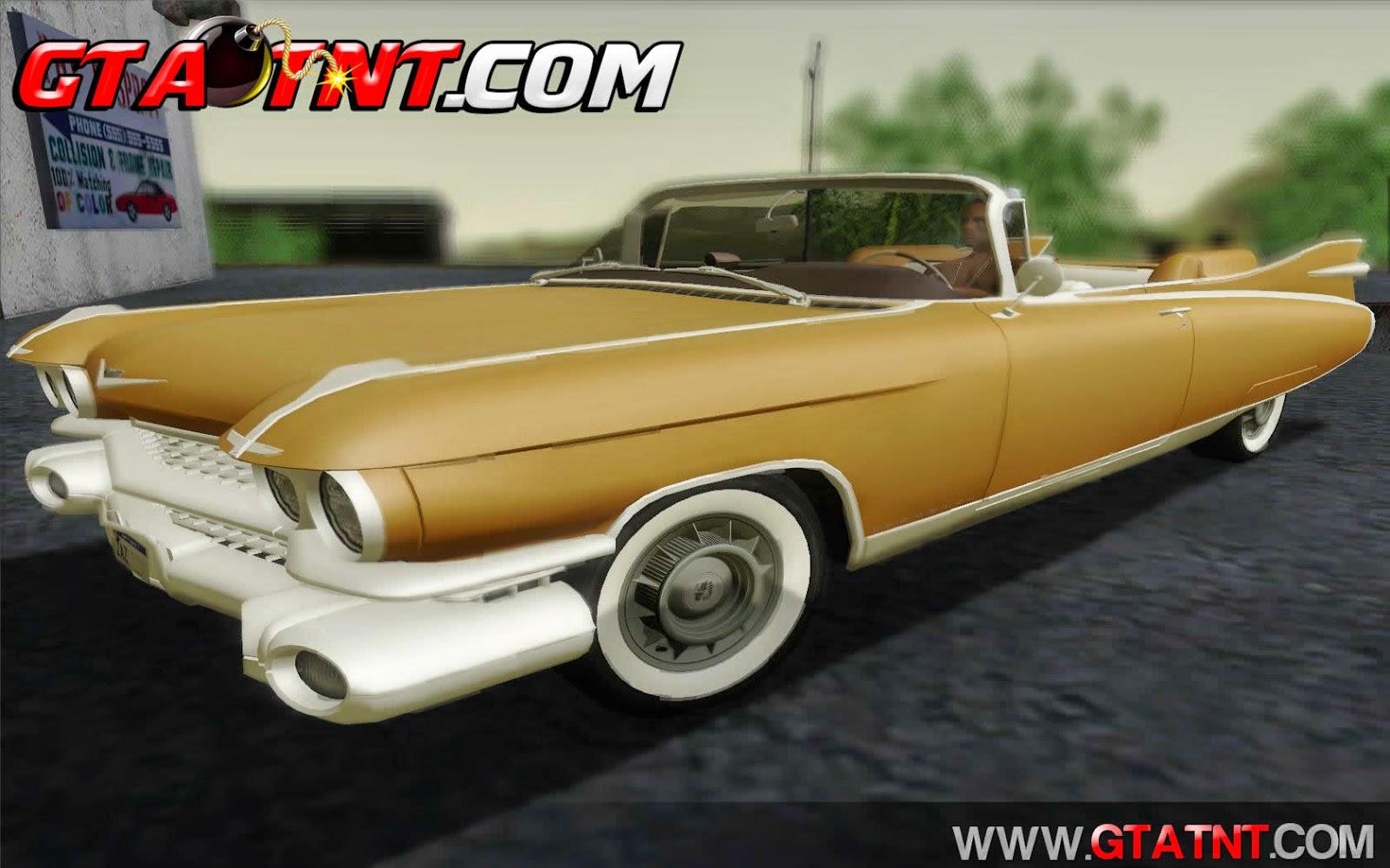 Cadillac Eldorado Biarritz Conversivel 1959 para GTA San Andreas