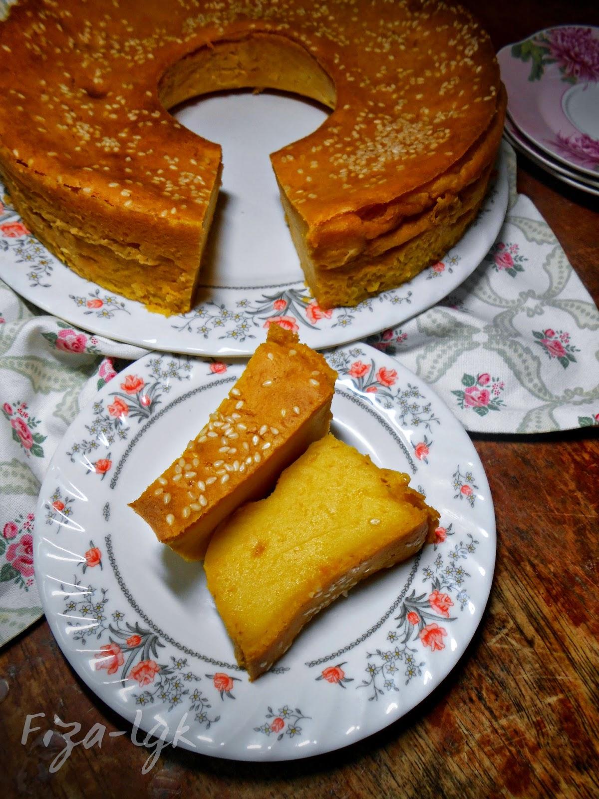Bingka Labu Lemak Manis Fiza S Cooking