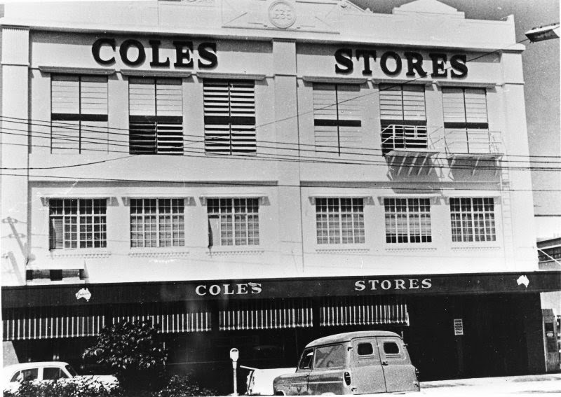 North queensland history old coles building takes many for Australian cuisine history