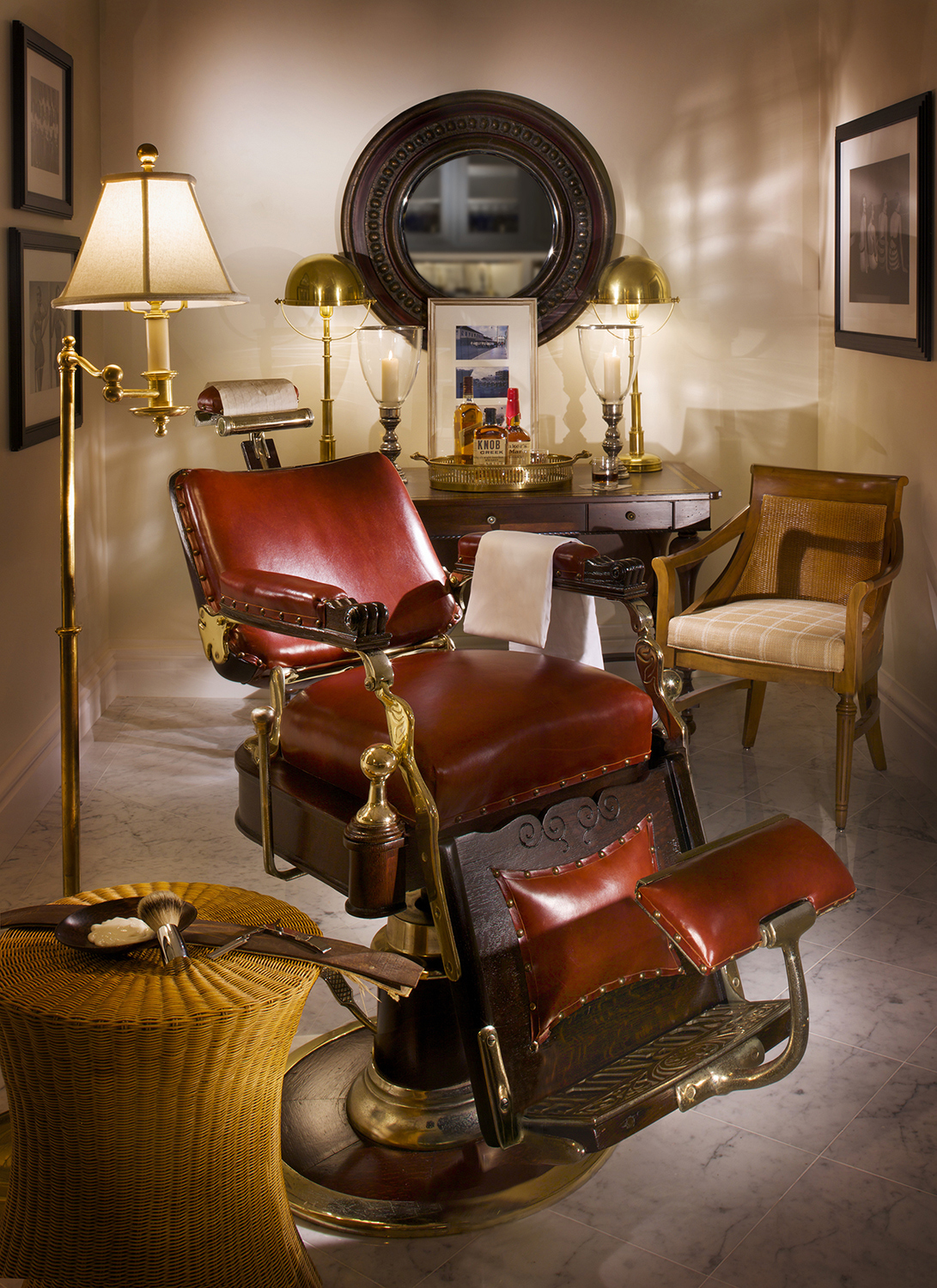 Barber Girl Photos: Antique Barber Chair
