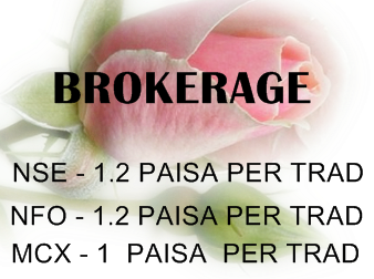 Trading account brokerage charges