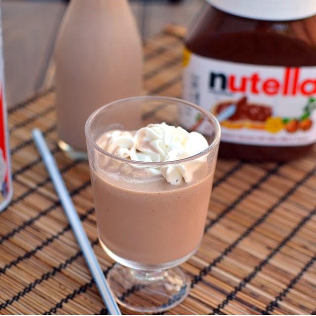 Banana Nutella Milkshake