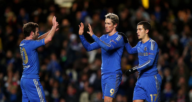 Champions chelsea leave UEFA on a high win night