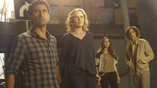 Review of Fear the Walking Dead cast - Cliff Curtis, Kim Dickens, Frank Dillane and Alycia Debnam-Carey