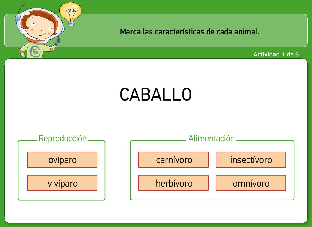 http://www.primerodecarlos.com/TERCERO_PRIMARIA/octubre/Unidad3/actividades/cono/animales/alimentacion_reproduccion_animales.swf