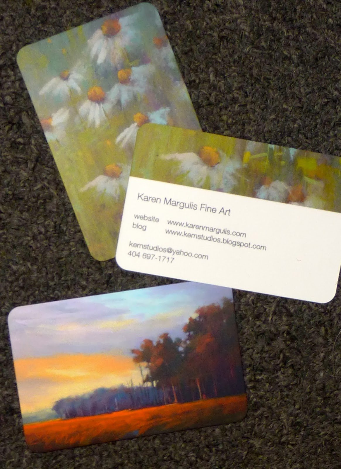Painting My World: My Review of Moo.com Business Cards