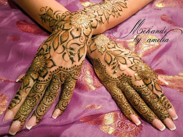 New Mehndi Ceremony : Amelia mehndi design for wedding ceremony all the