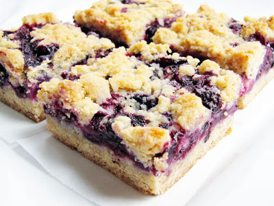 My Favorite Things: Blueberry Cheesecake Bars with an Oatmeal Cookie ...