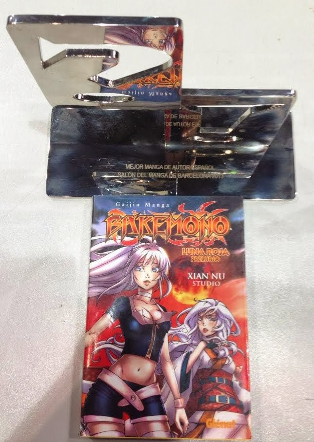 Premio Ficomic Mejor Manga Autor Español 2013