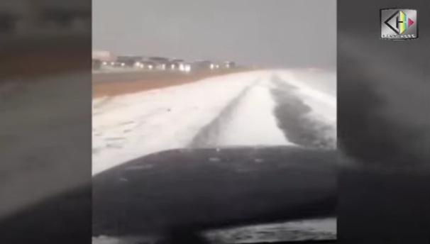 Video: Jalan Makkah – Madinah Diselimuti Salju