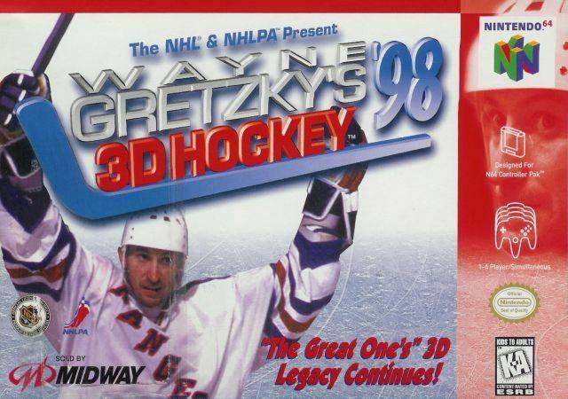 Wayne Gretzkys 3D Hockey 98 ROMs Nintendo64 Español