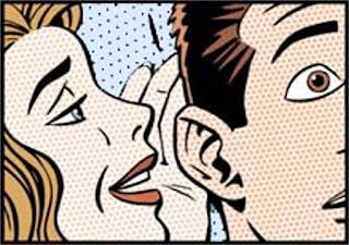 cartoon whisper rumor
