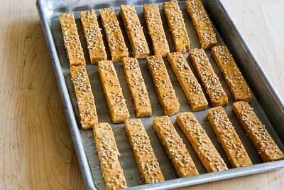 Kalyn's Kitchen®: Baked Sesame Tofu Sticks with Peanut Butter and ...