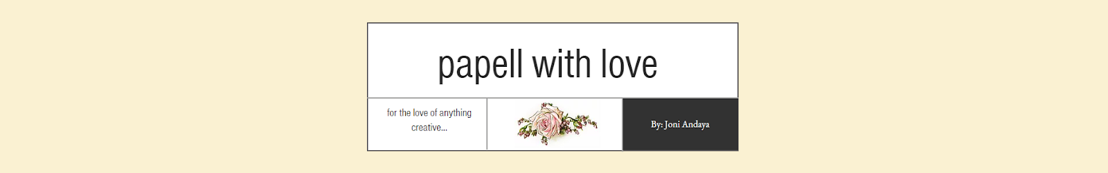 papell with love