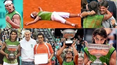 Nadal gana la final de Roland Garros 2005 ante Mariano Puerta