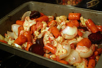 Bacony Beans and Roasted Vegetables 2
