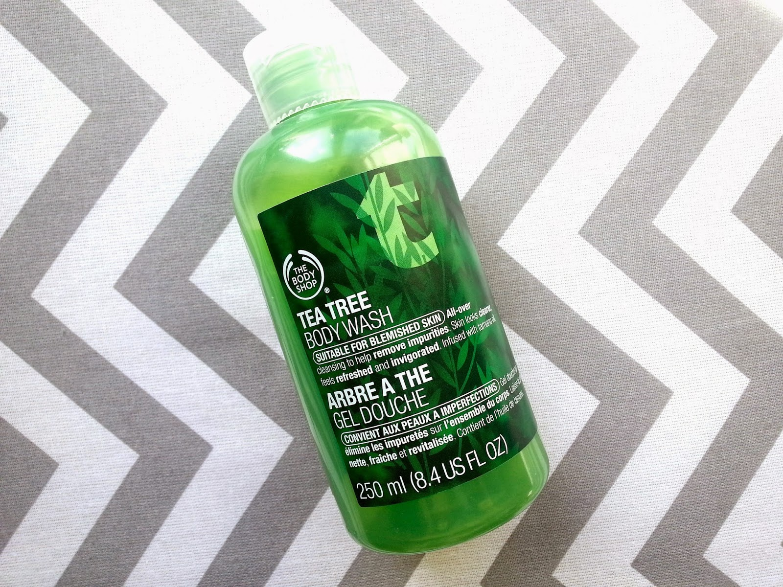 The Body Shop Tea Tree Body Wash Review