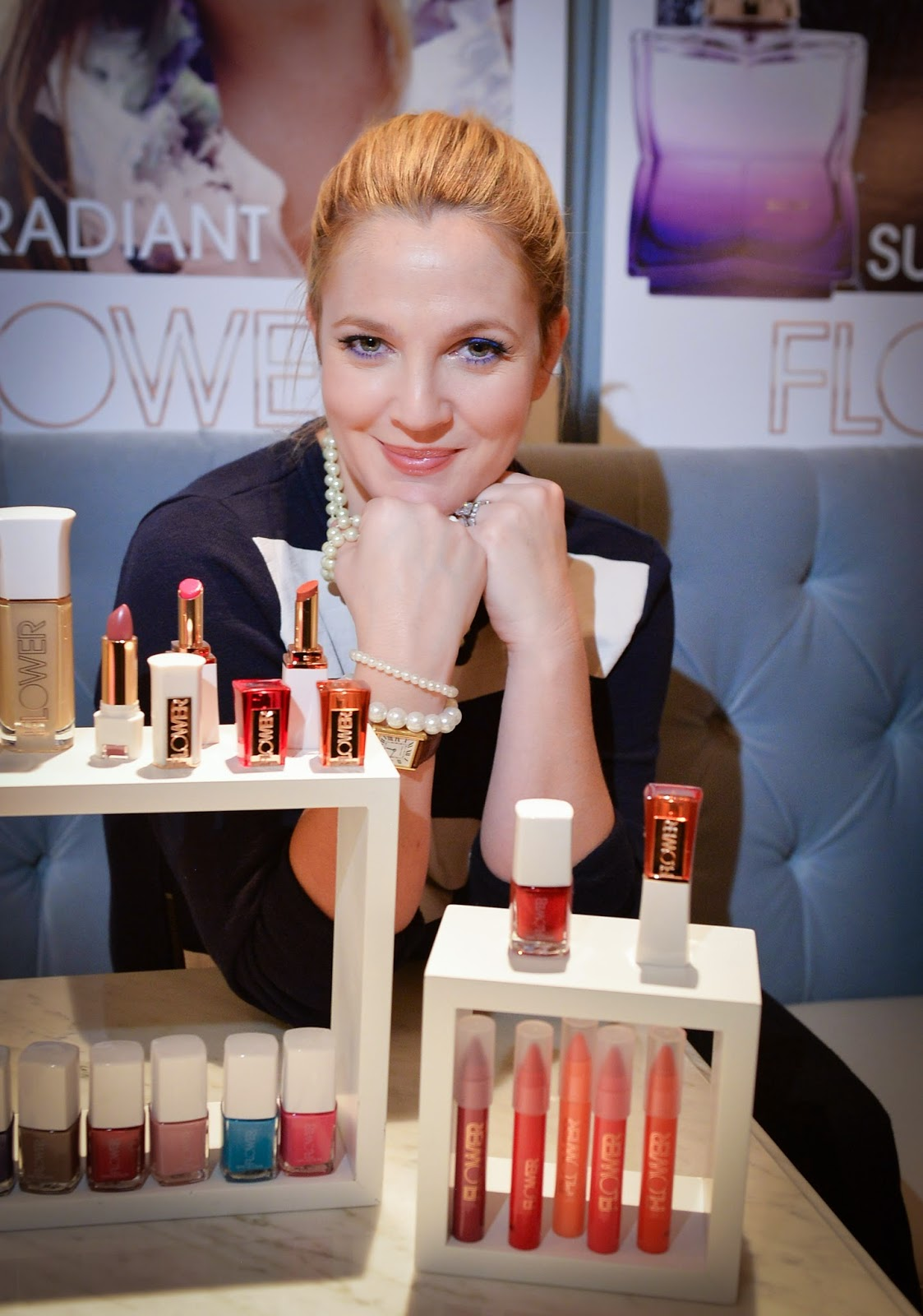 An Evening With Drew Barrymore And Flower Beauty